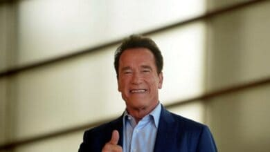 Photo of Schwarzenegger boards spy adventure series as lead actor, co-producer