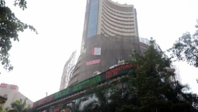 Photo of Sensex, Nifty end in red amid volatility, Bharti Airtel down 8% (2nd Ld)