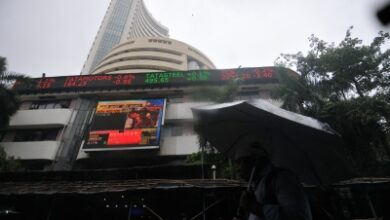 Photo of Sensex gains over 300 points, RIL at record high