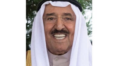 Photo of Kuwait ruler Sheikh Sabah passes away at 91