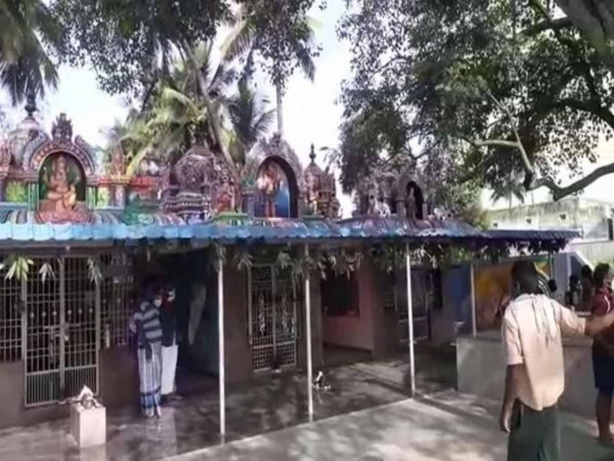 Andhra: Nandi idol vandalised in Lord Shiva temple in Chittoor