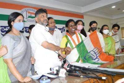 Transgender activist joins Karnataka Congress