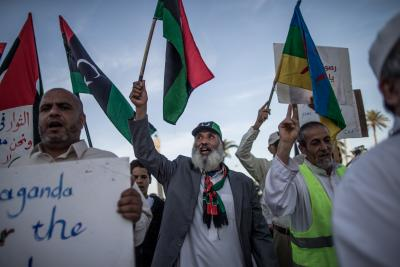 UN concerned over excessive use of force against E.Libya demonstrators