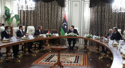 UN welcomes Libyan PM's decision to step down