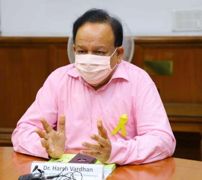 Vested interests spearheading misinformation campaign against NDHM: Harsh Vardhan