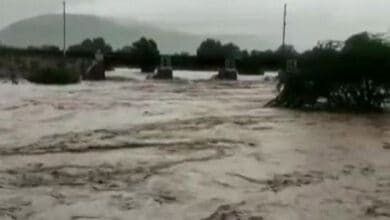Photo of Parts of Telangana affected by incessant rainfall