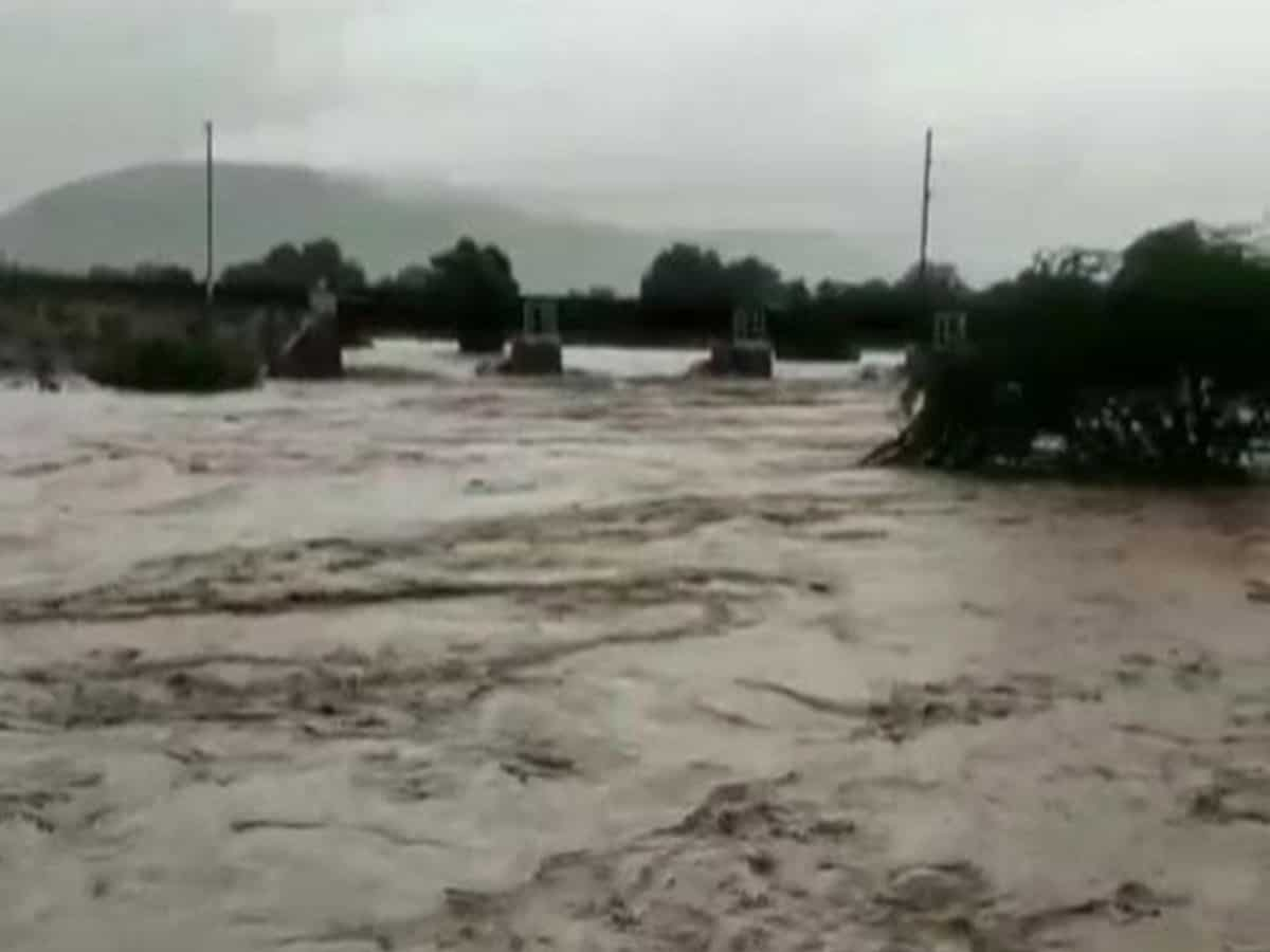 Parts of Telangana affected by incessant rainfall