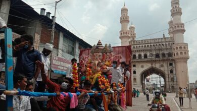Photo of Ganesh procession & Immersion in Hyderabad