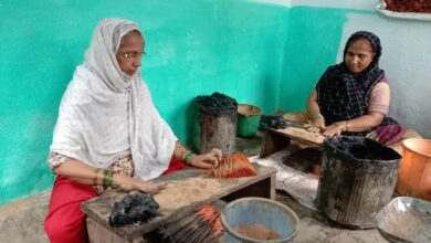 Photo of Vattepally incense makers are an example of women empowerment