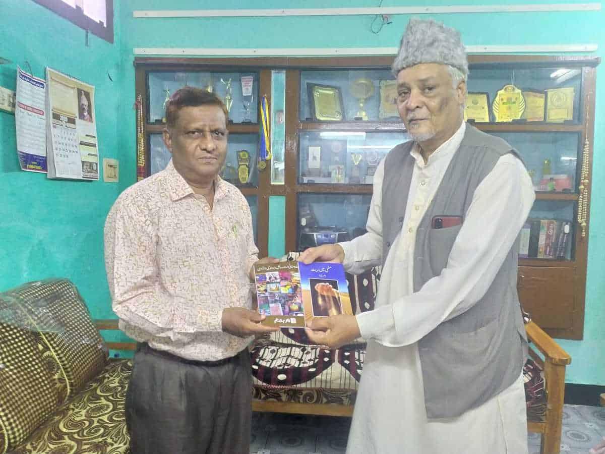 Urdu writer Mujeeb Ahmed receives TS Urdu Academy Award