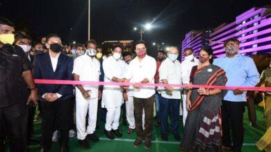 Photo of Much-hyped Durgam Cheruvu cable bridge inaugurated