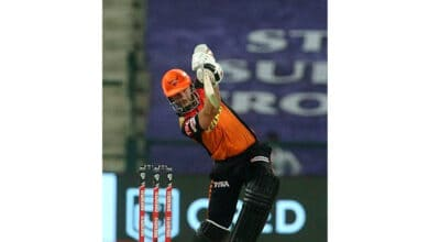 Photo of IPL 2020: Bairstow, Williamson take SRH to 162/4 against DC