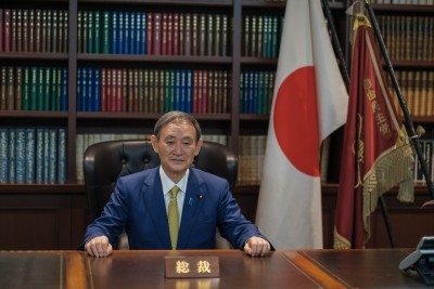 Yoshihide Suga elected as Japan's new Prime Minister (Ld)