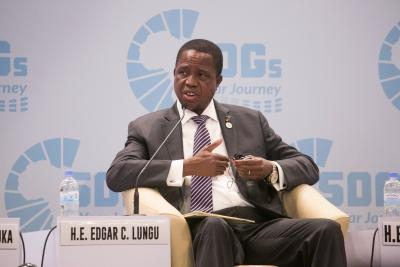 Zambian leader flags off distribution of subsidized farming inputs to small scale farmers