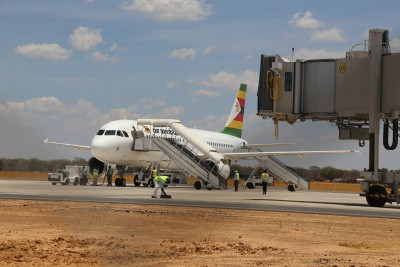 Zimbabwe's national airline resumes domestic, regional flights