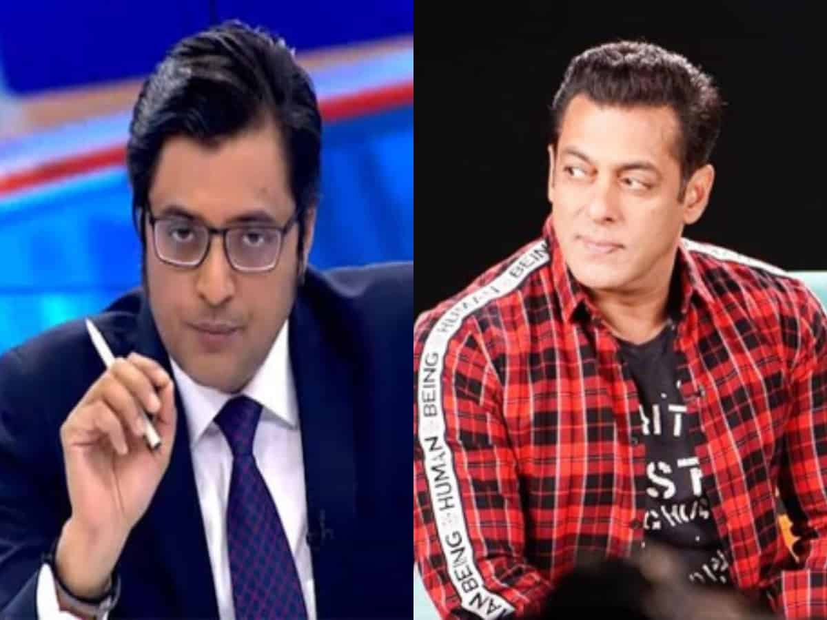 Controversial Arnab Goswami yells at Salman Khan, people find it hilarious
