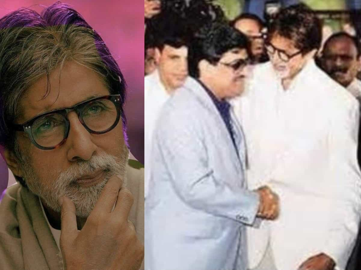 Is Amitabh Bachchan shaking hands with Dawood Ibrahim in this viral pic?