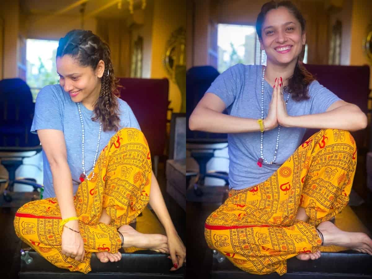 Ankita Lokhande gets trolled for wearing 'Om' printed trouser