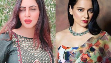 Photo of Shut up! Do you even know the F of Feminism? Arshi Khan yells at Kangana