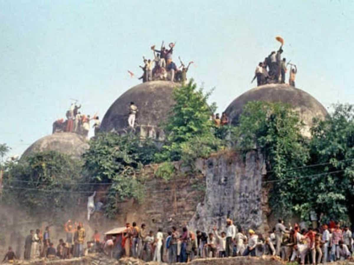 Babri Demolition Case : Special CBI Court to deliver verdict tomorrow