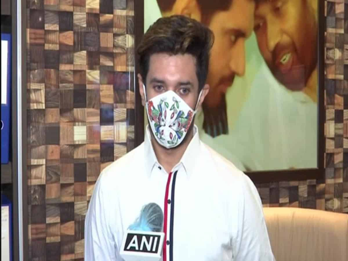 Father receiving treatment in Delhi, my Bihar visit will be delayed: Chirag Pawan