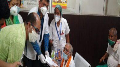 Photo of 100-year-old woman defeats coronavirus in Assam