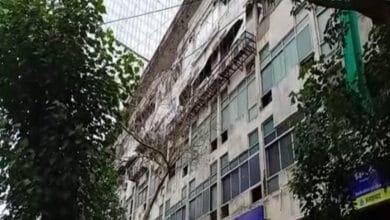 Photo of Mumbai: Cylinder blast at Worli's Manish Commercial Centre
