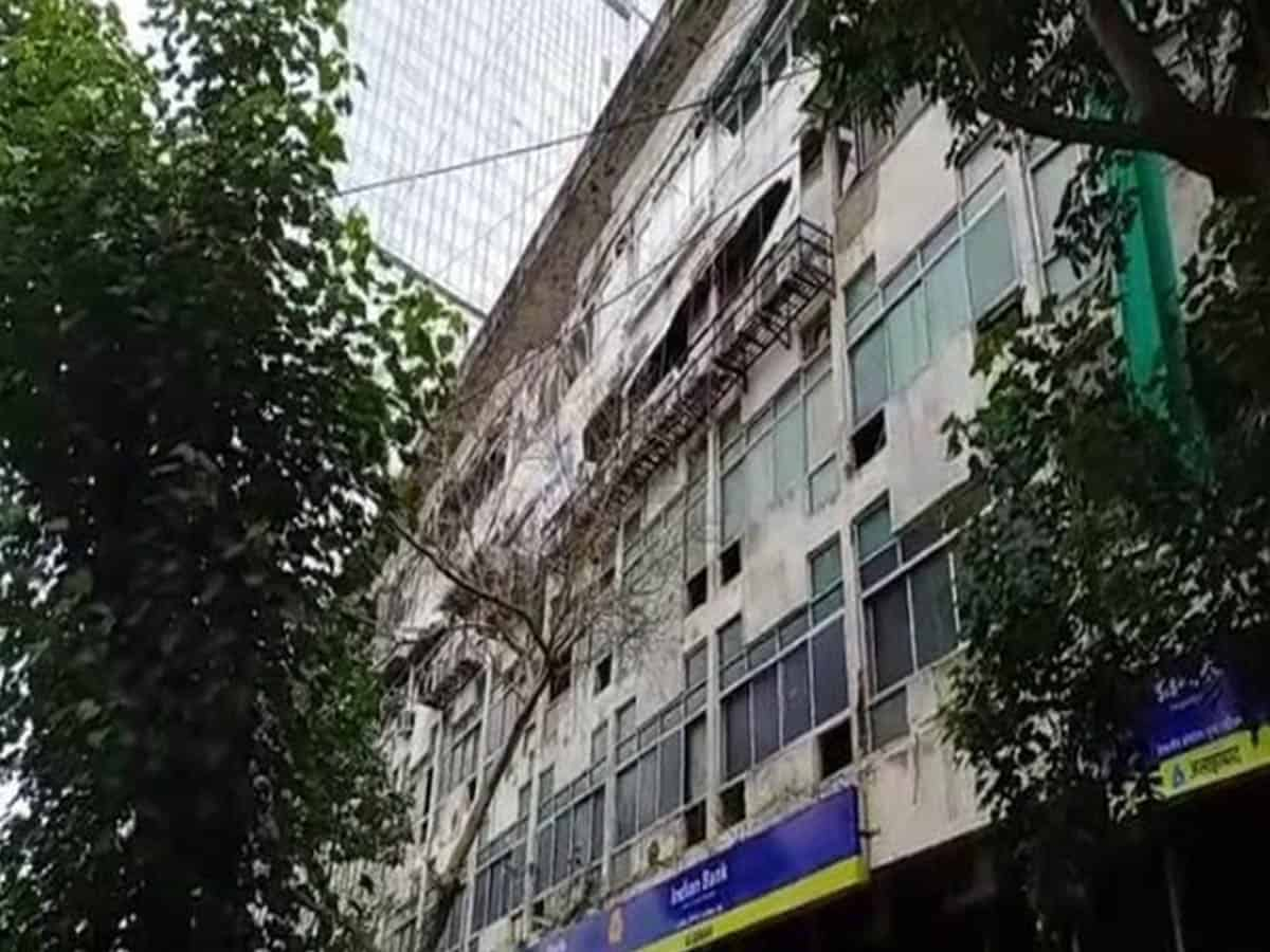 Mumbai: Cylinder blast at Manish Commercial Centre, Worli
