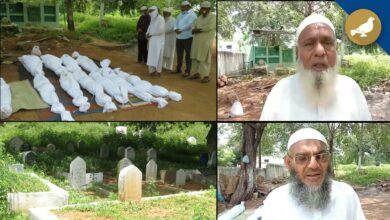 Photo of Siasat arranges burial of unclaimed Muslim dead bodies, 4730 buried so far
