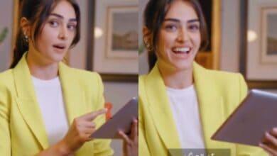 Photo of 'Ertugrul' star Esra Bilgic's video learning Pakistani slang goes viral