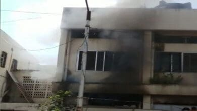 Photo of Fire breaks out at Sardar Vallabhbhai Patel Hospital in Pune