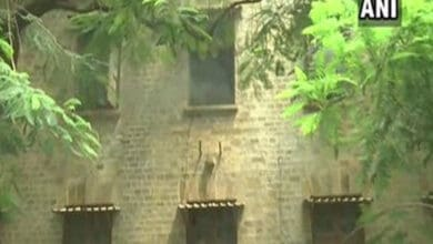 Fire breaks out in Exchange Building at Ballard Estate in Mumbai