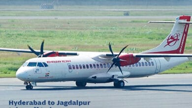 Photo of Daily flights from Hyderabad to Jagdalpur starts from Sept 21
