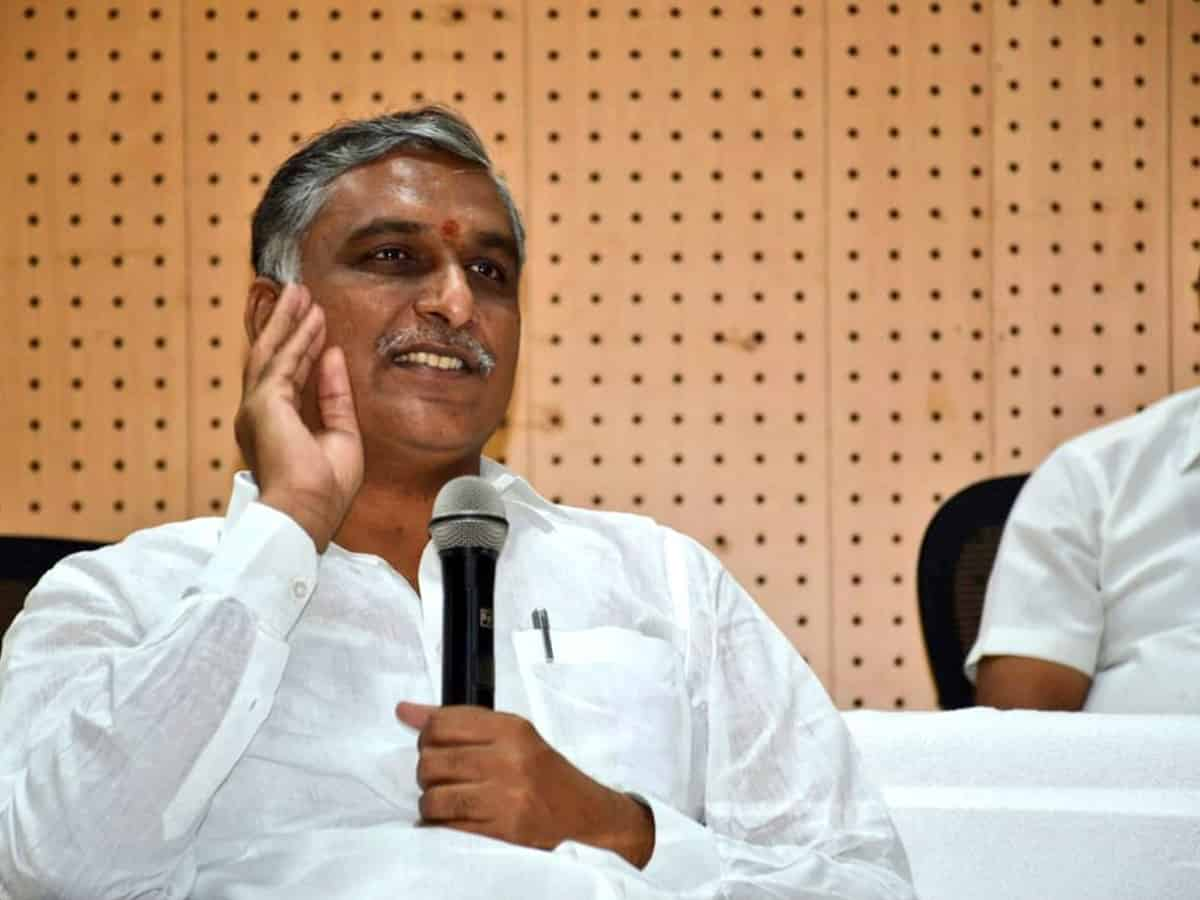 Finance Minister Harish Rao tests COVID-19 positive