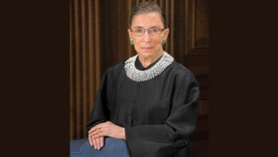 Photo of Supreme Court Justice Ruth Bader Ginsburg dies at 87