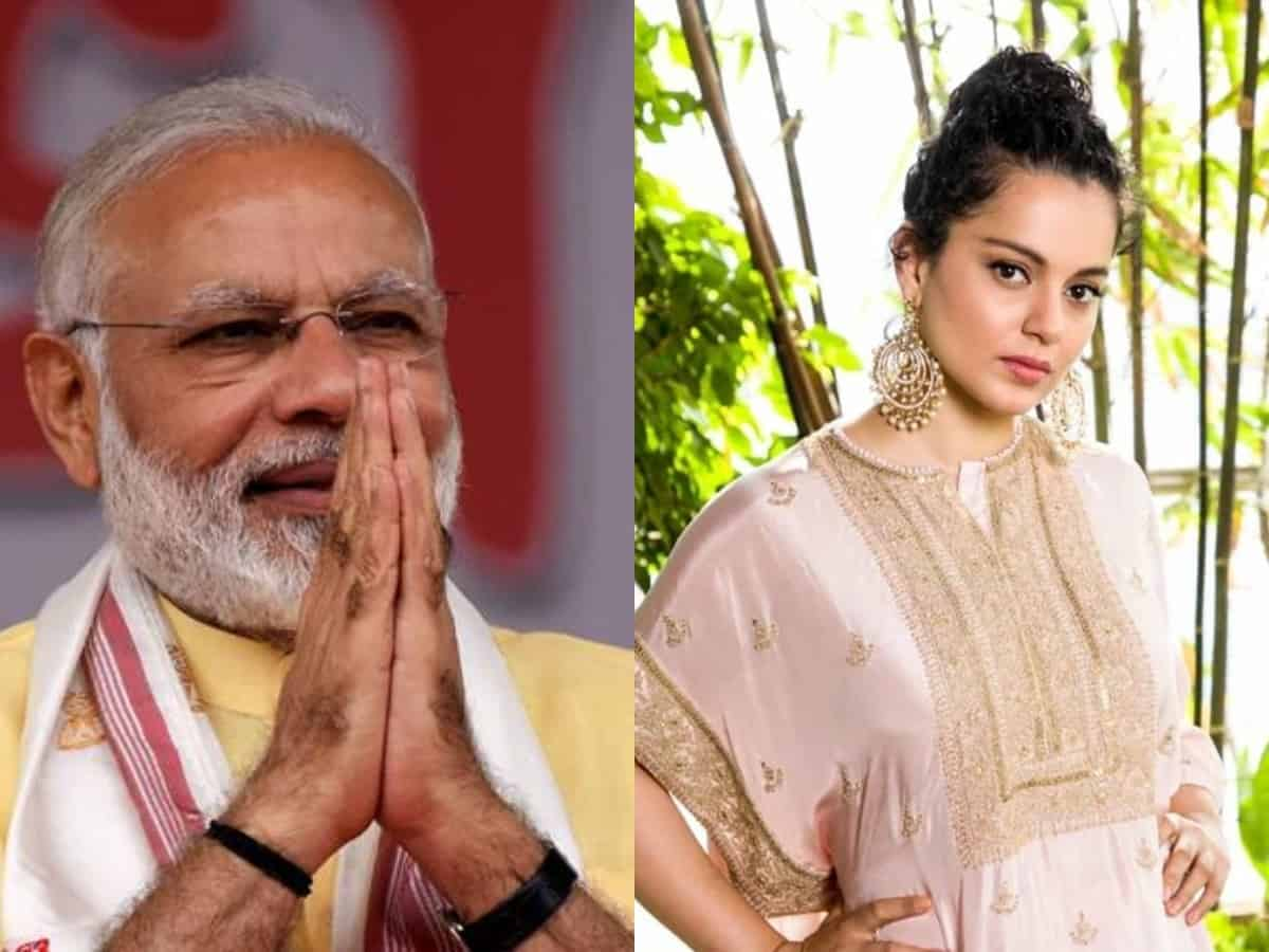 Kangana wishes Narendra Modi on his birthday: All are praying for your long life