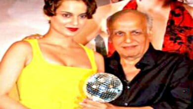 Photo of Watch: Kangana thanking Mahesh and Mukesh Bhatt at award ceremony