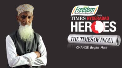 Photo of 84-yr-old Mohammed Haneef chosen among 'Times Hyderabad Heroes'