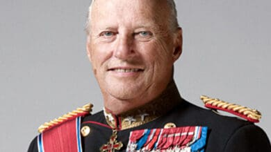 Aging Norwegian king admitted to Oslo hospital
