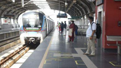 Photo of Hyderabad Metro resumes service