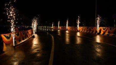 Photo of Durgam Cheruvu cable stayed bridge opened in Hyderabad