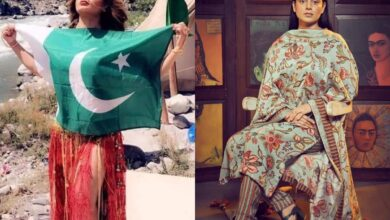 Photo of Rakhi Sawant slams Kangana's fans for making her pic with Pak flag viral