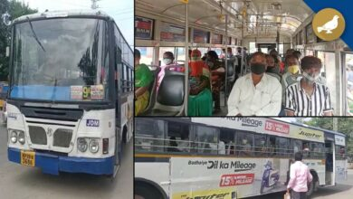 Photo of TSRTC buses back on Hyderabad's roads