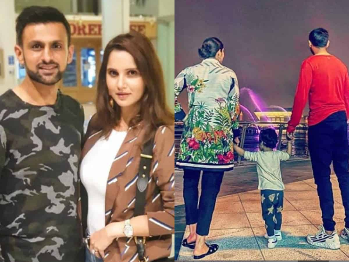 It's a 'Mirza-Malik reunion' after seven months for Sania Mirza!