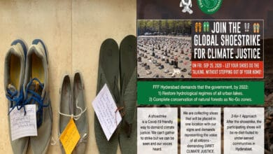 Photo of Hyd to participate in Global Climate Action 'Shoe strike'