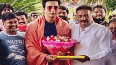 Photo of Prakash Raj felicitates Sonu Sood for his philanthropic work