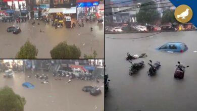 Photo of Hyderabad: Tolichowki submerged in rain water