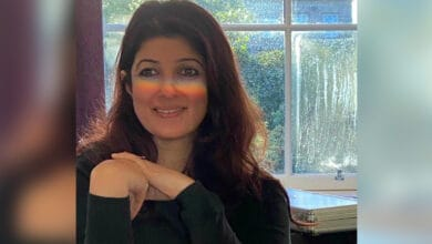 Photo of Twinkle Khanna reacts to a hilarious viral meme about her