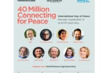 Photo of Event 'Celebrate Peace' and 'Create Peace' to be held on Monday