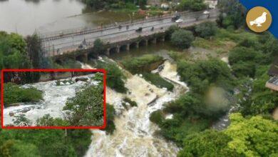 Photo of Hyderabad rains: Water level rises in Hussain Sagar Lake